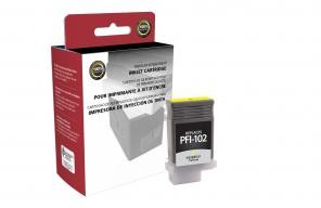 Yellow Ink Cartridge for Canon PFI-102  -  page yield  -