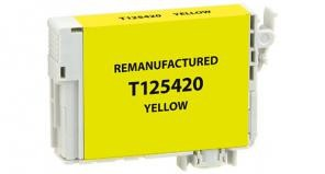 EPC   Yellow Ink Cartridge for Epson T125420- page yield 395