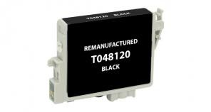 Epson Remanufactured Black Ink Cartridge for Epson T048120  -  page yield 630